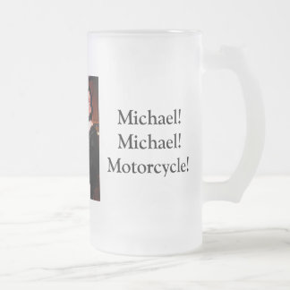 fathers day2, Lots of Love!!!, Michael!Michael!... Frosted Glass Beer Mug