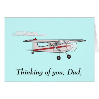 Father's Day: Airplane Card