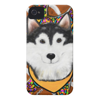 Fathers Day Alaskan Malamute Case-Mate iPhone 4 Case