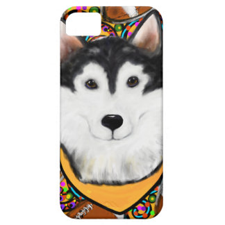 Fathers Day Alaskan Malamute iPhone 5 Case