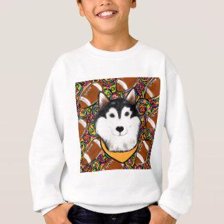 Fathers Day Alaskan Malamute Sweatshirt