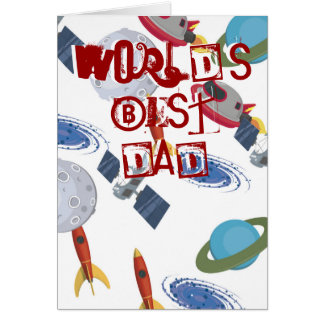 Fathers Day astronomy card