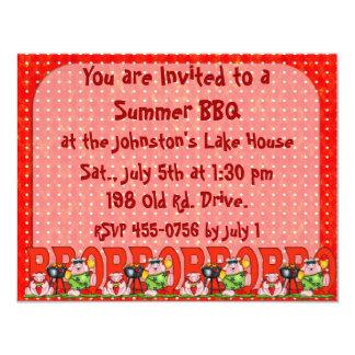 Father's Day  BarBQ invitation Family reunion