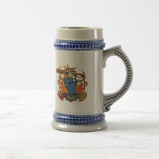 Fathers Day Baseball Gifts For Dad 18 Oz Beer Stein