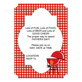 Father's Day BASH! Party Invitations