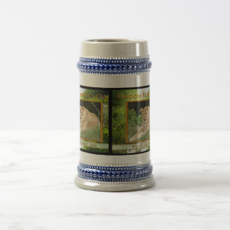 Father's Day Big Cat Mugs Cups Steins Travel Mugs