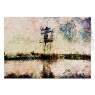 Father's Day, Birthday card, Ship, Marine Art Card