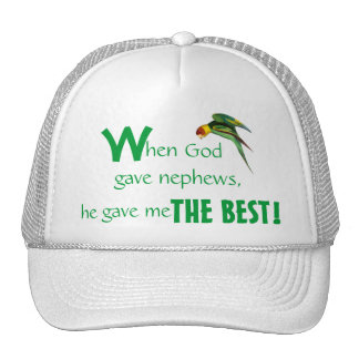 Father's Day Cap Nephew Trucker Hat