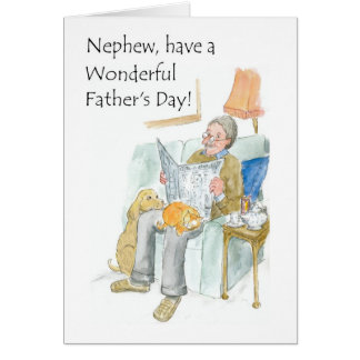 Father's Day Card for a Nephew