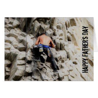 Father's Day Card - Rock Climber