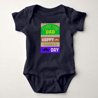 Father's Day Celebrate Baby Bodysuit