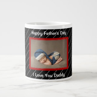 Father's Day,  Custom Photo,  Personalized Large Coffee Mug