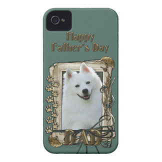 Fathers Day DAD - Stone Paws - American Eskimo Case-Mate iPhone 4 Case