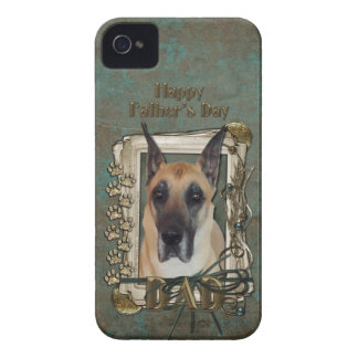 Fathers Day DAD - Stone Paws - Great Dane Case-Mate iPhone 4 Case