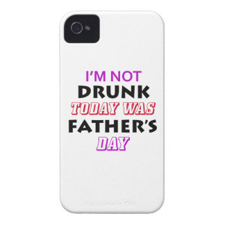 father's day design iPhone 4 case