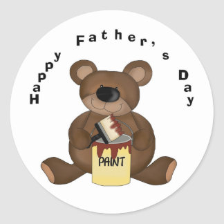 Father's Day DIY Bear Stickers