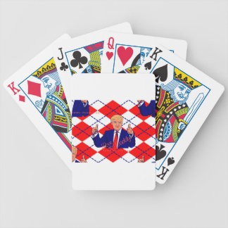 fathers day donald trump bicycle playing cards