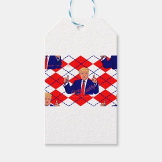 fathers day donald trump gift tags