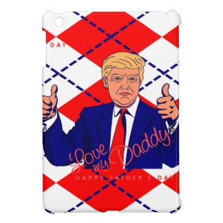fathers day donald trump iPad mini cover