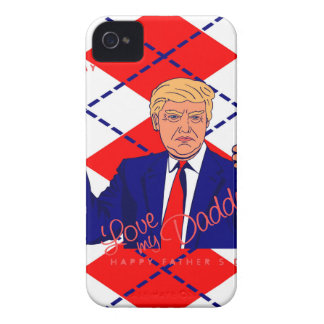 fathers day donald trump iPhone 4 cover