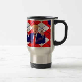 fathers day donald trump travel mug