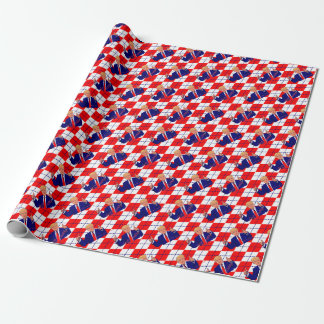 fathers day donald trump wrapping paper
