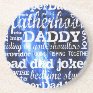 Father's Day Drink Coasters