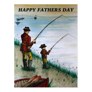 Fathers Day fishing card