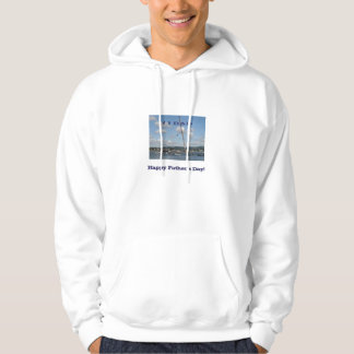 Father's Day fishing hoodie