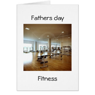 fathers day fitness card