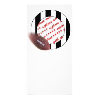 Father's Day Football - Referee Photo Frame Photo Greeting Card