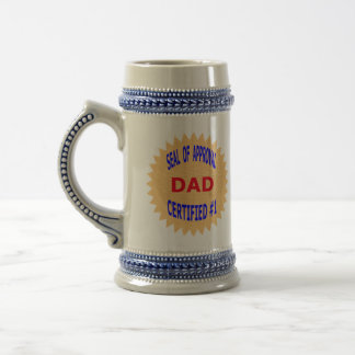 Father's Day Gift T-Shirts and Unique Gift Items 18 Oz Beer Stein