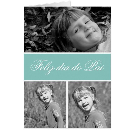 Father's Day Greetings Picture Cards | Portuguese