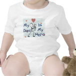 Father's Day Hero Dad T-Shirt Baby Bodysuit