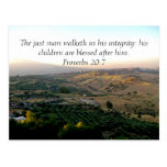 Father's Day Italy & Scripture Gifts Postcard