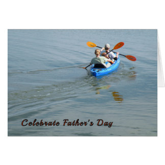 Father's Day Kayaking Card