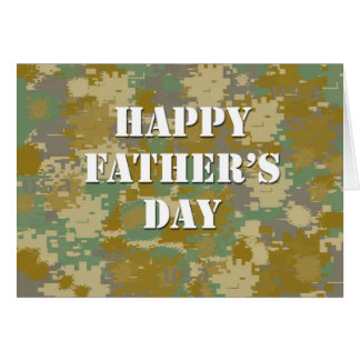 Father's Day - Military Greeting Cards