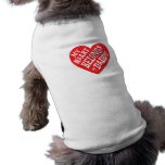 Fathers Day - My Dog Heart  Belongs to Daddy Pet Tshirt
