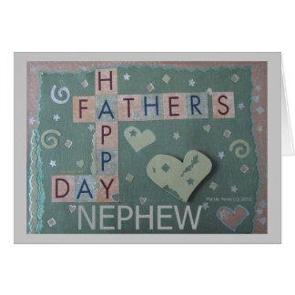 Father's Day - Nephew - Scrapbook Card