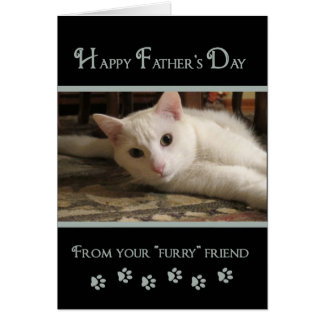 Father's Day  - Photo Card From Furry Friends