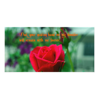 Father's Day Photo Greeting Card