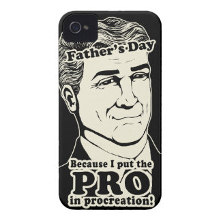 Father's Day PROcreation iPhone 4 Case-Mate Cases