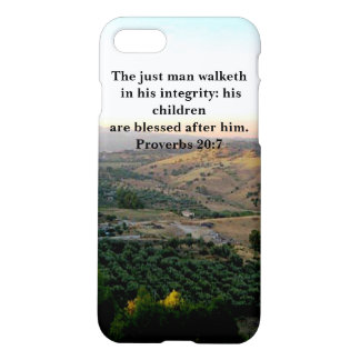 Father's Day Scripture & Italy iPhone 8/7 Case