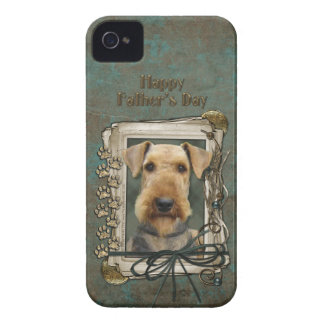 Fathers Day - Stone Paws - Airedale Case-Mate iPhone 4 Case