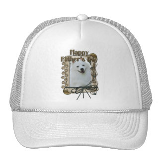 Fathers Day - Stone Paws - American Eskimo Hat