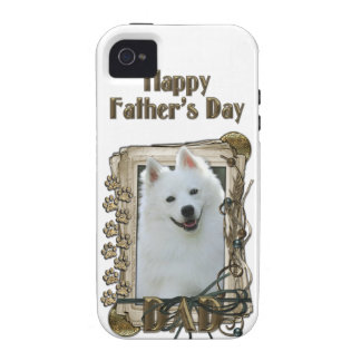 Fathers Day - Stone Paws - Australian Shepherd Case-Mate iPhone 4 Cases