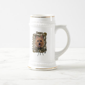 Fathers Day - Stone Paws - Australian Terrier 18 Oz Beer Stein