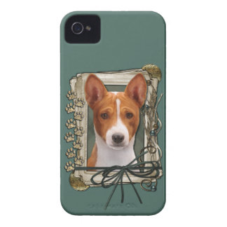 Fathers Day - Stone Paws - Basenji Case-Mate iPhone 4 Case