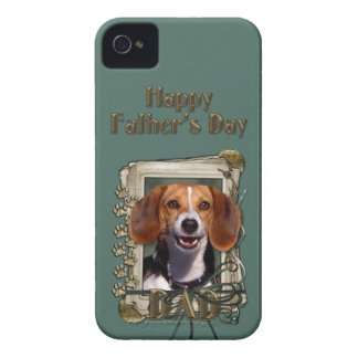 Fathers Day - Stone Paws - Beagle iPhone 4 Cases