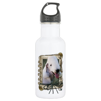 Fathers Day - Stone Paws - Bedlington Terrier
